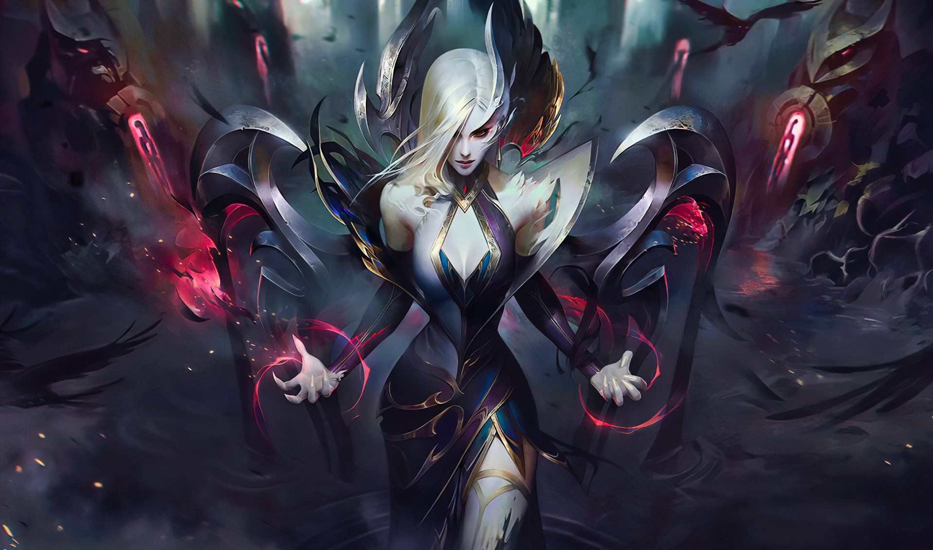 Leblanc Morgana And Zyra Join The Coven With Brand New Skins League Of Legends Live League Of Legends Lol League Of Legends Coven zyra league of legends wallpaper