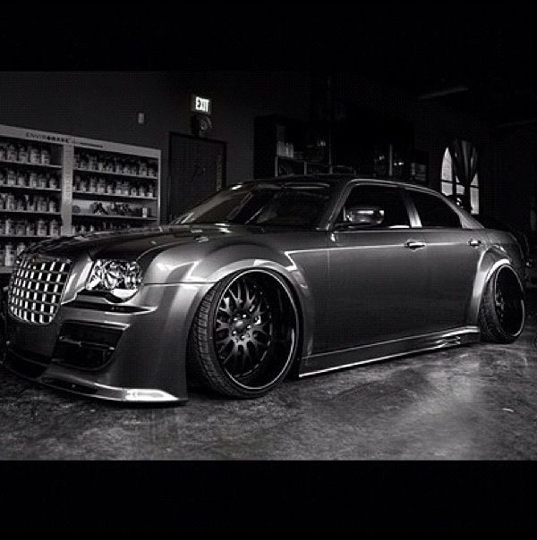 160 Best Images About Chrysler 300 On Pinterest: Chrysler 300C Slammed And Murdered .. Dark And Mean. #Woah