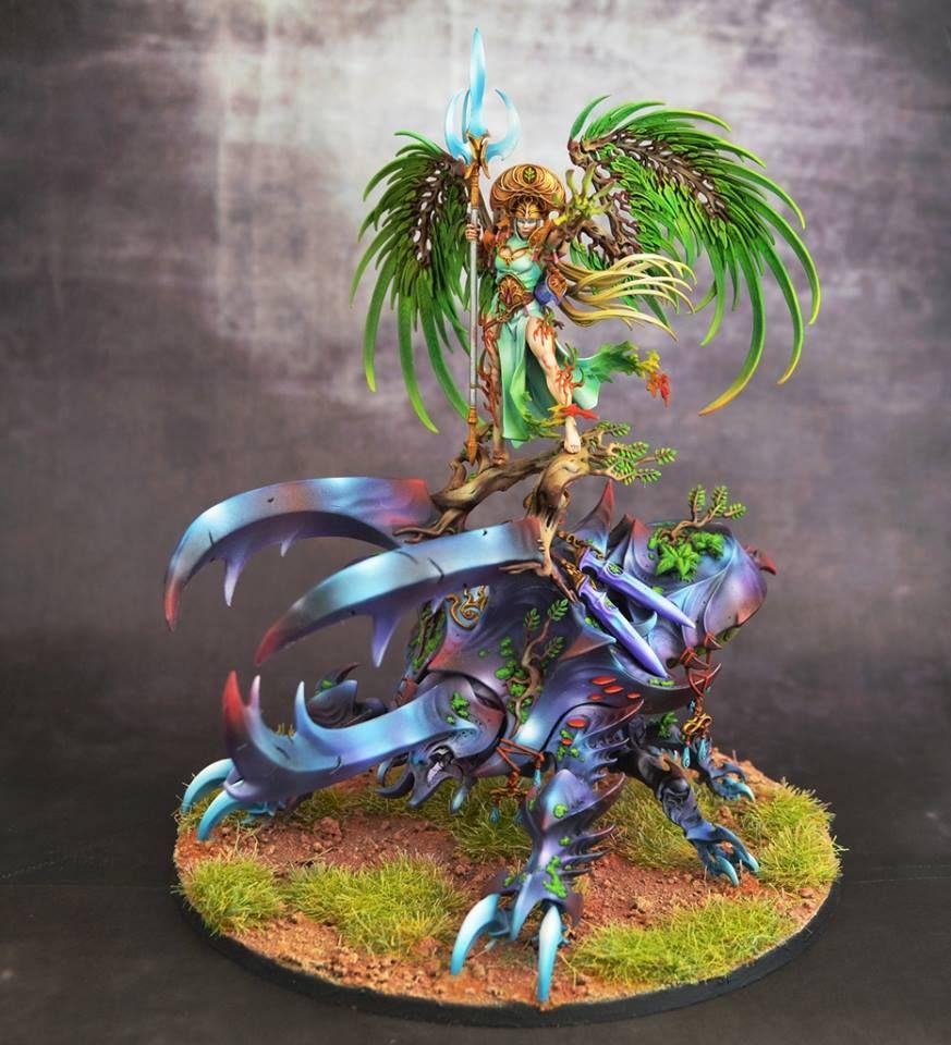 Age of Sigmar   Sylvaneth   Alarielle #warhammer #ageofsigmar #aos #sigmar #wh #whfb #gw #gamesworkshop #wellofeternity #miniatures #wargaming #hobby #fantasy