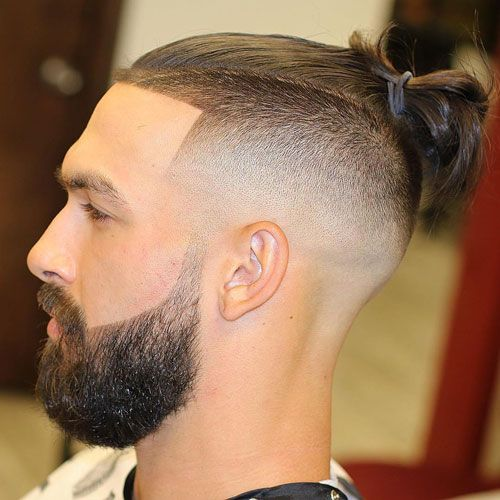 25 Cool Shaved Sides Hairstyles Haircuts For Men 2020 Update Man Bun Hairstyles Man Bun Styles Man Bun Haircut