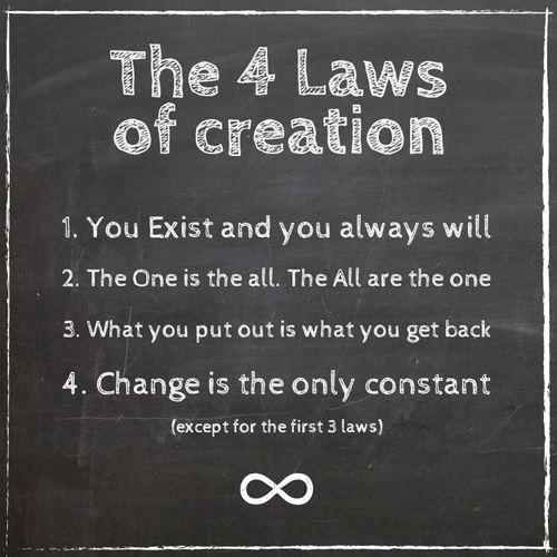 Las 4 leyes de la creación Citas que me encantan Pinterest - social security request form