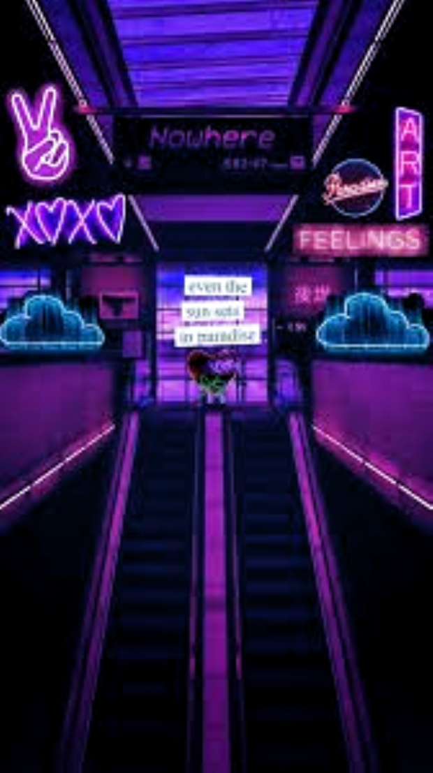 Aesthetic Purple Neon Wallpapers Android Wallpaper Desktop Wallpaper Anime Wallpaper Tumblr Wallpape Neon Wallpaper Aesthetic Colors Dark Purple Aesthetic