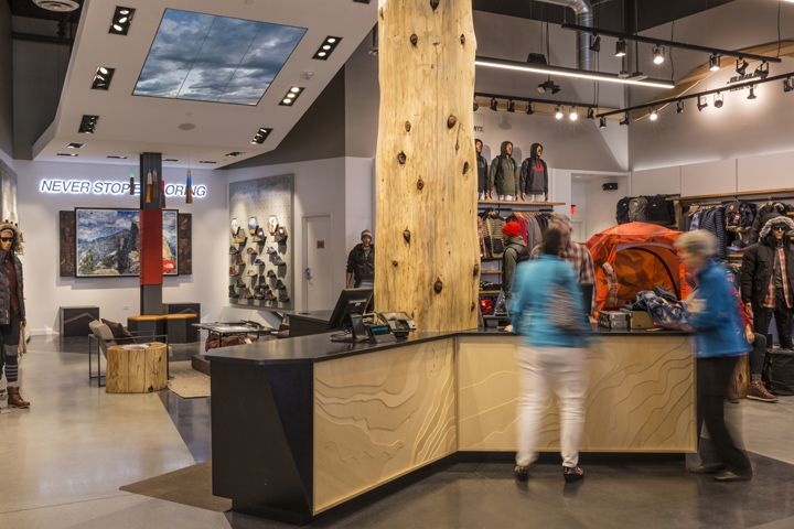 The North Face Flagship Store By Green Room Palo Alto California