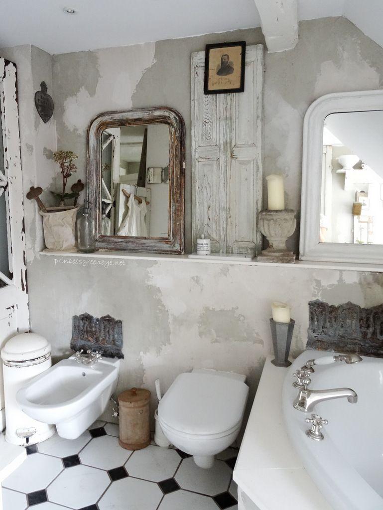 Orange badezimmerdekor princessgreeneye  badezimmer  pinterest  shabby bath and shabby