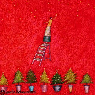 Tudo Junto E Misturado Natal Ilustrado Natal Francês