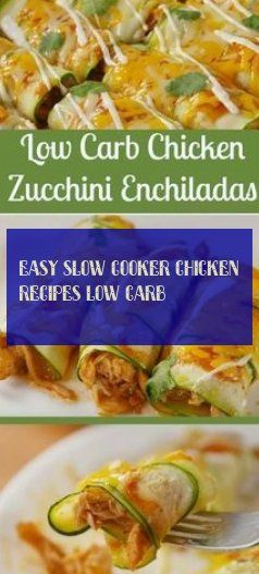 easy slow cooker chicken recipes low carb