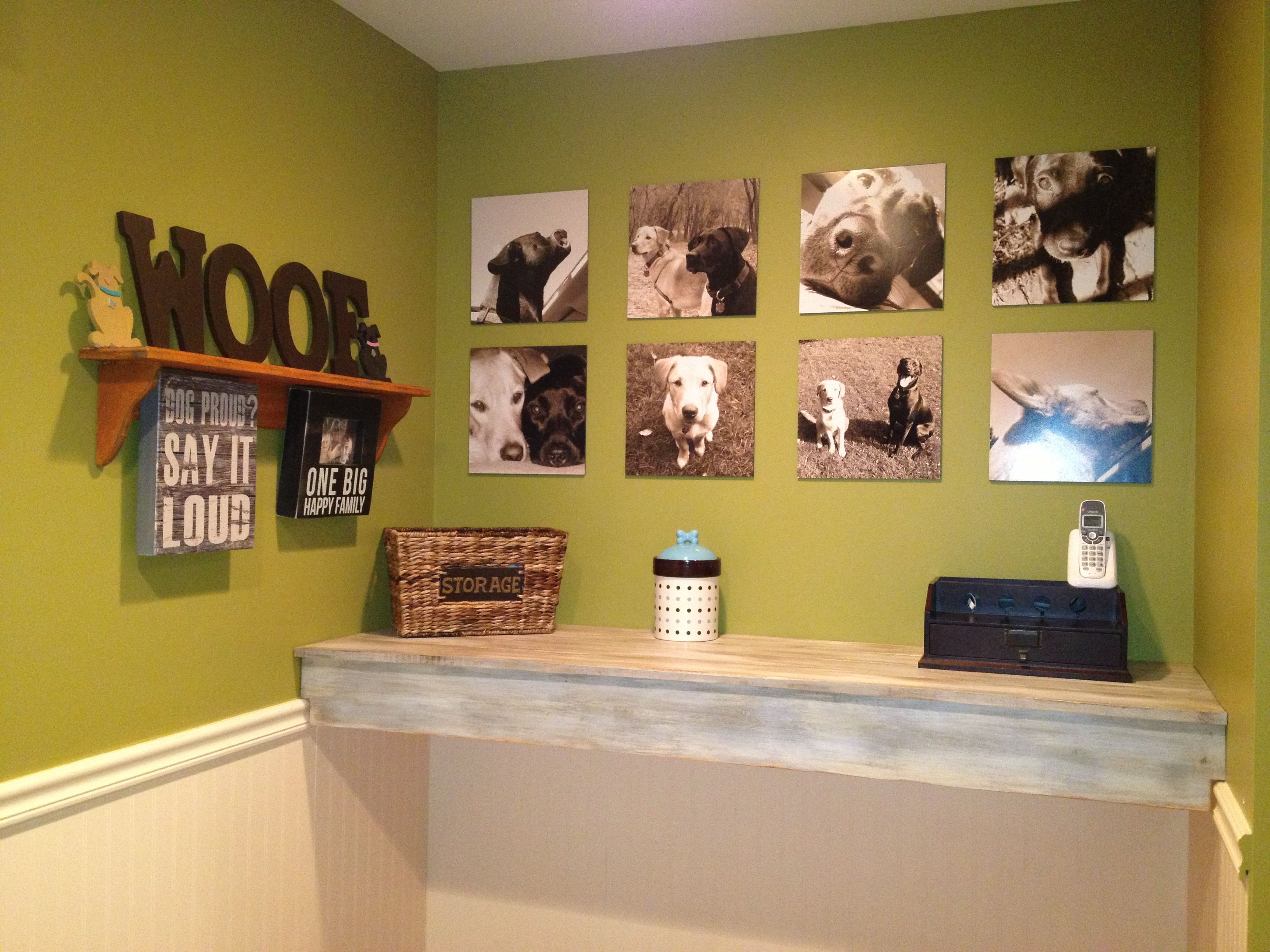Dog Room Wall of Fame- Doing this with all of HamBastian\'s doggy ...