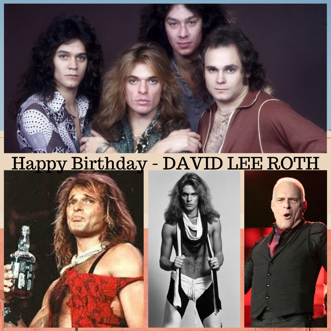 Happy Birthday David Lee Roth 1955 Born David Lee Roth American Rock Vocalist Songwriter With Van Halen The With Images Van Halen David Lee Roth Vinyl Records