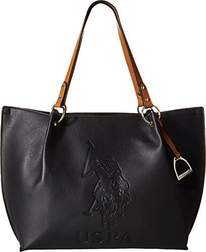 1ed3959316f9 SALE PRICE  28.5 - US Polo Assn. Womens Handbags Kingston Tote Shoulder Bag  (See
