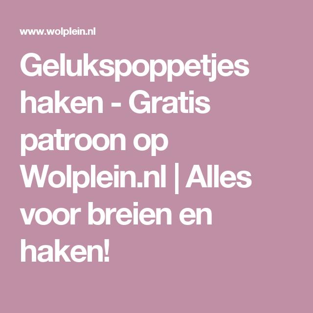 Gelukspoppetjes Haken Met Houten Kralen Pinterest Gratis Patroon