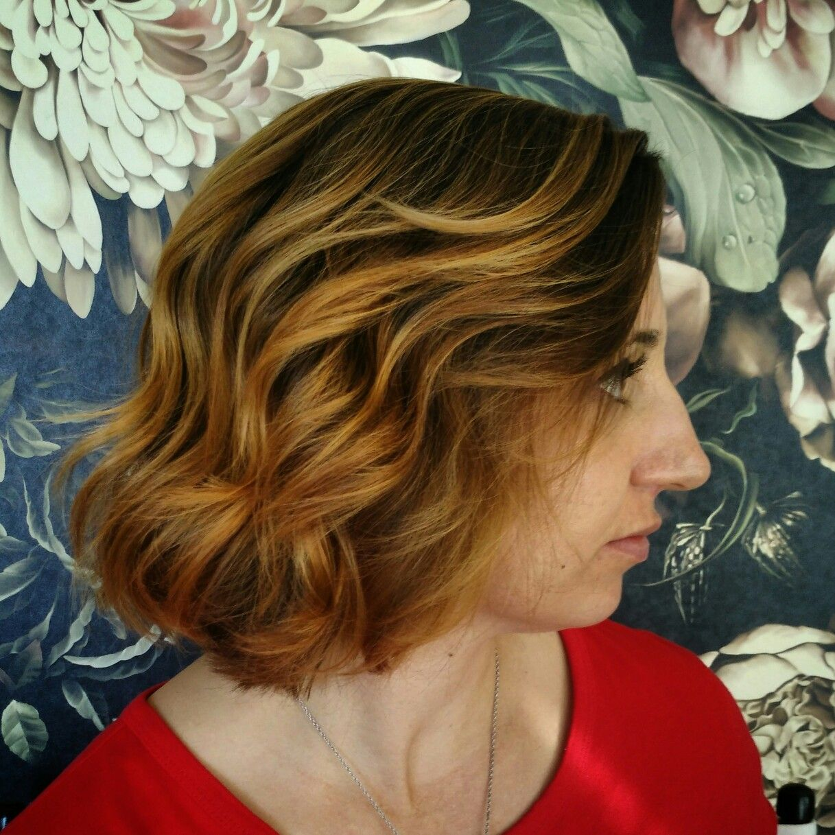 Balayage And Haircut By Lucy Garcia Owner Stylist Lavenderoseabq Albuquerque