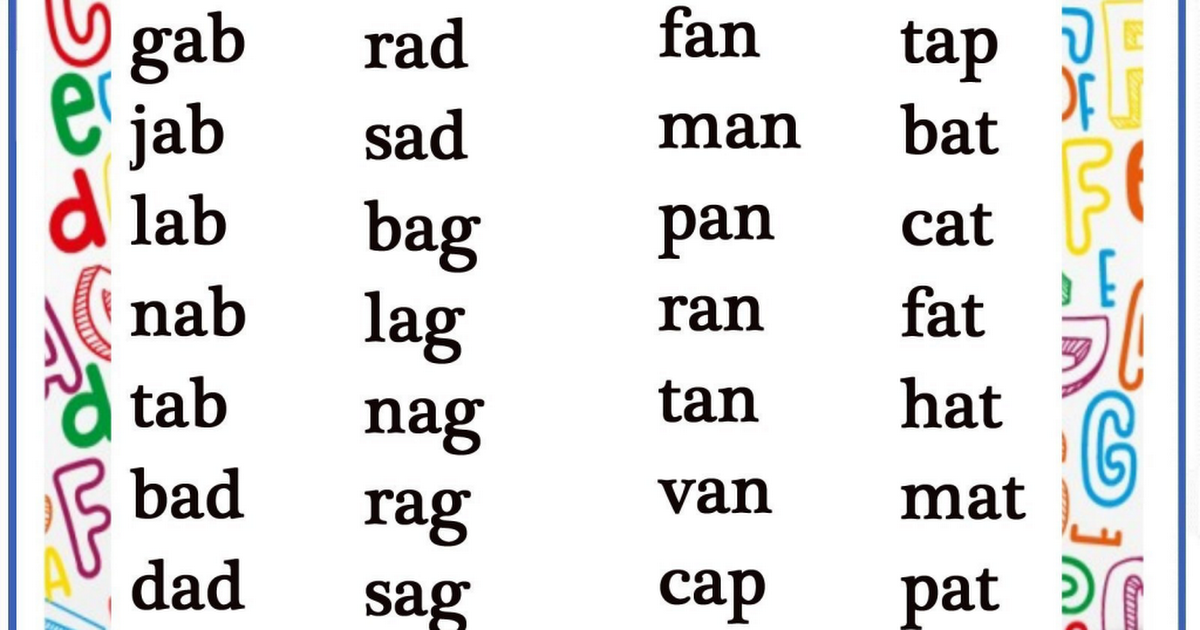 short-vowel-sound-1 pdf | pre school | English phonics