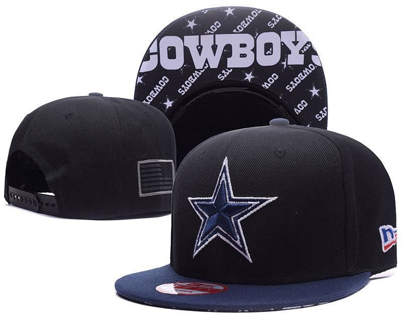 27ae25c850f Men's Dallas Cowboys New Era 9Fifty NFL Crafted in America Throwback  Snapback Hat - Black / Navy