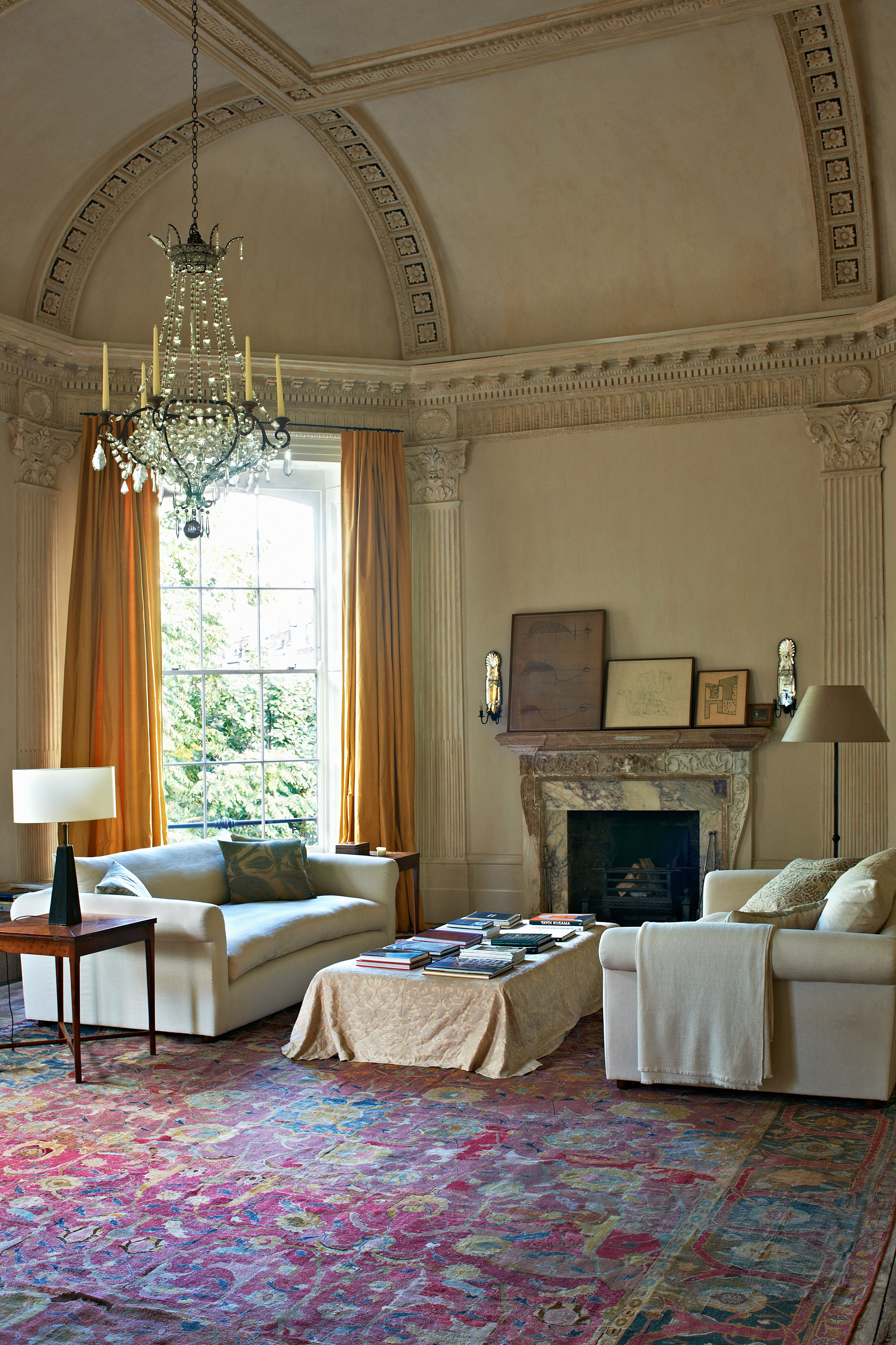 The Queen Of Serene Rose Uniacke S Pimlico Road London Home