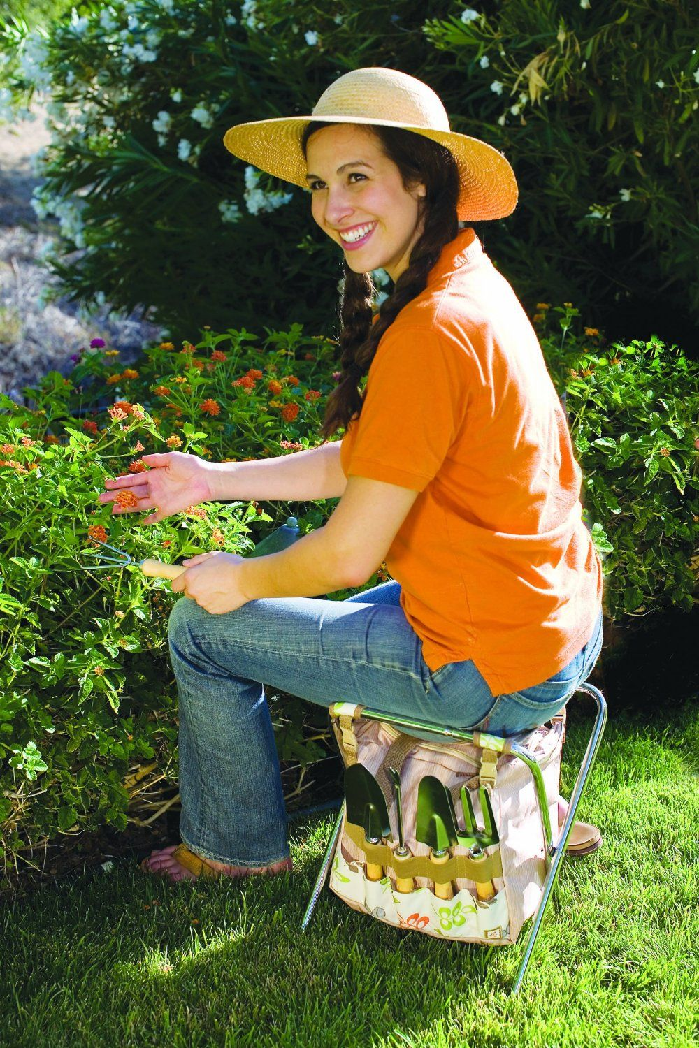 Picnictime Gardener Chair And Tools Set