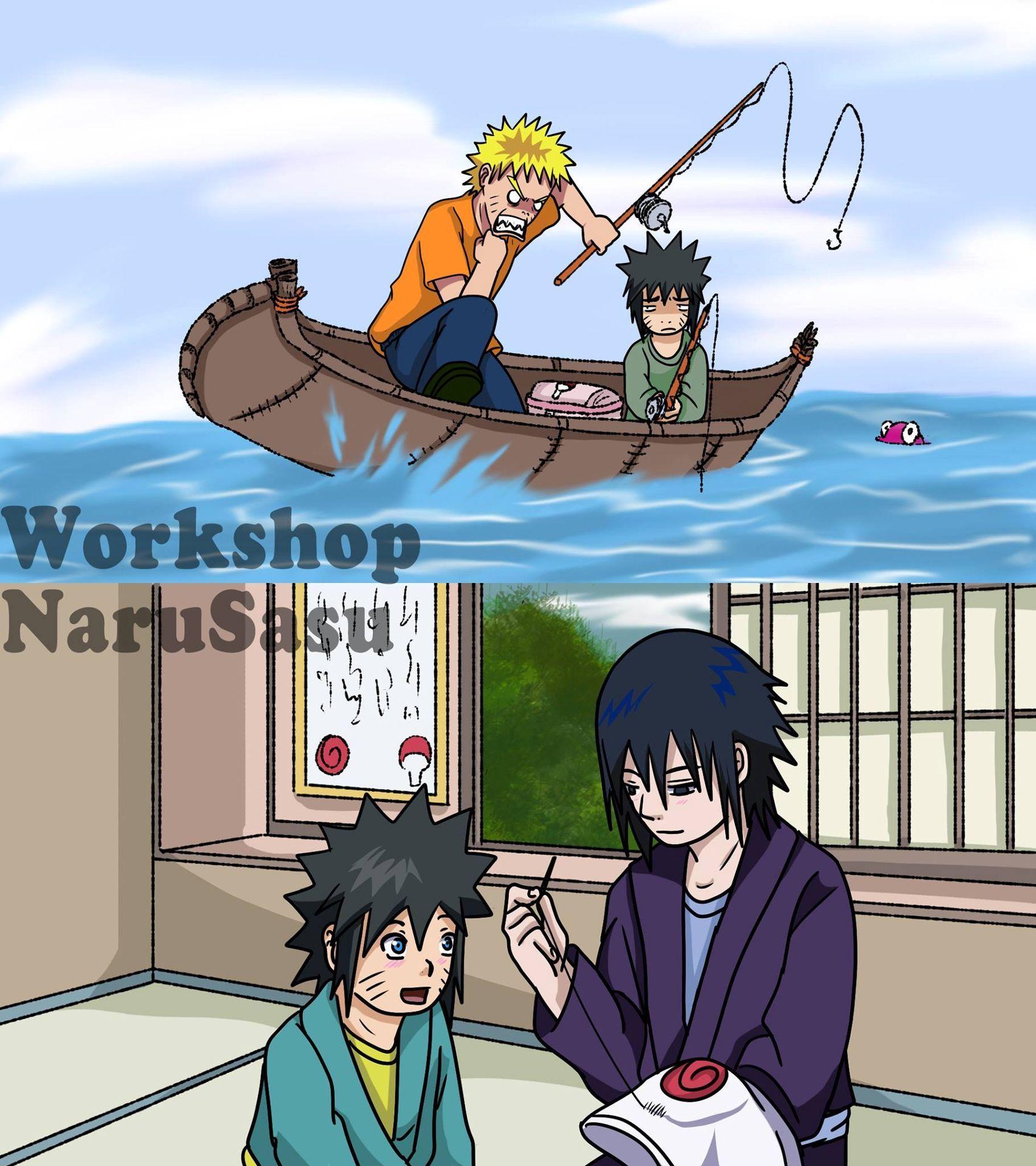 Imágenes NaruSasu in 2020 Naruto shippuden anime, Anime
