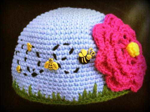 Beesness hat ~ inspiration | Vestidos bebe / Crochet | Pinterest ...