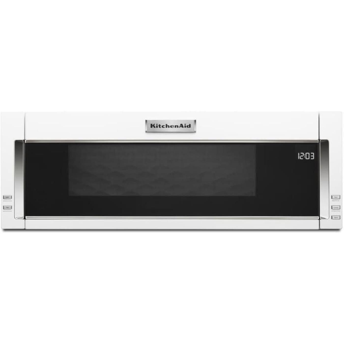 Kmls311hwh by kitchenaid overtherange microwaves