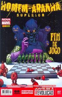 LIGA HQ - COMIC SHOP HOMEM-ARANHA SUPERIOR (MARVEL NOW) #17 - Homem-Aranha - Marvel PARA OS NOSSOS HERÓIS NÃO HÁ DISTÂNCIA!!!