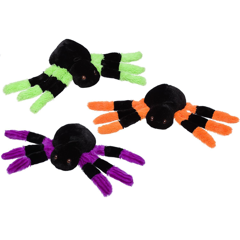 Petco Halloween Long Floppy Legs Spider Plush Dog Toy Too Effin