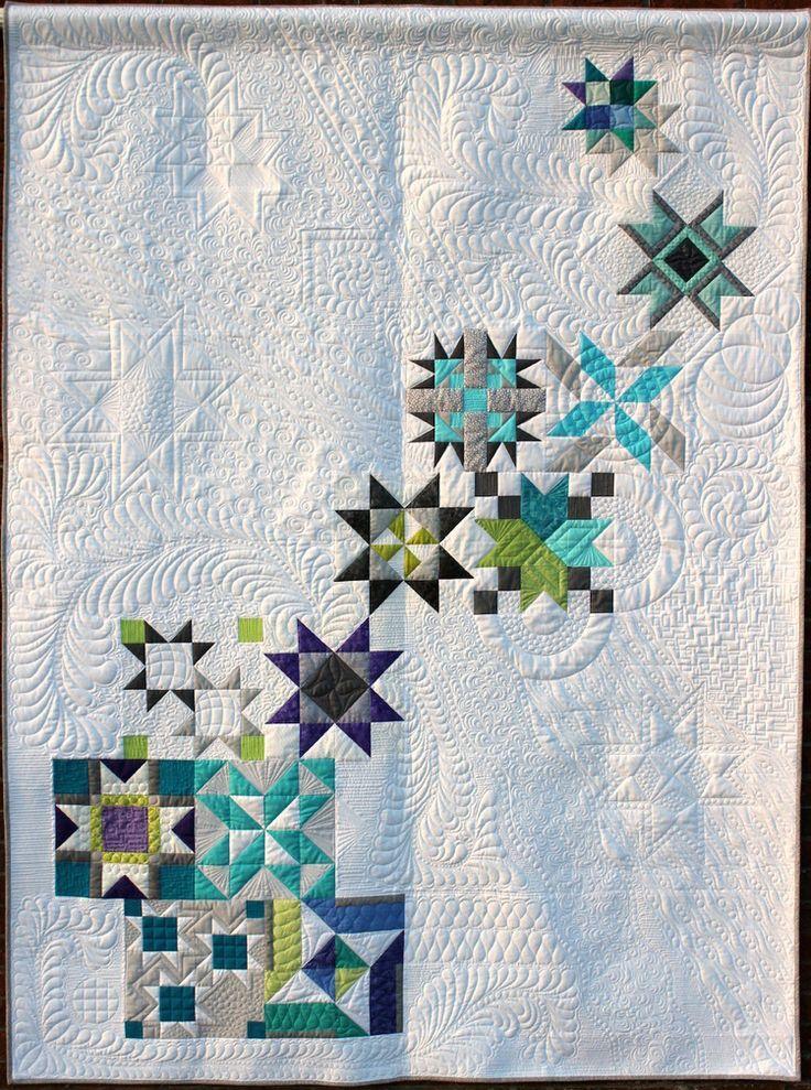 On Sharing Our Work (Quilts)   Quiltmuster, Stern weihnachten und Sterne