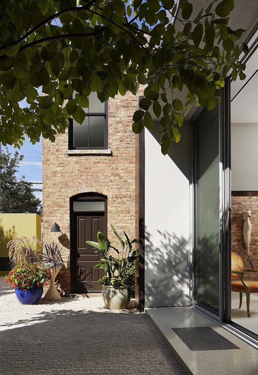 New Two-Story Brick Masonry Residence in Wicker Park, Chicago ...