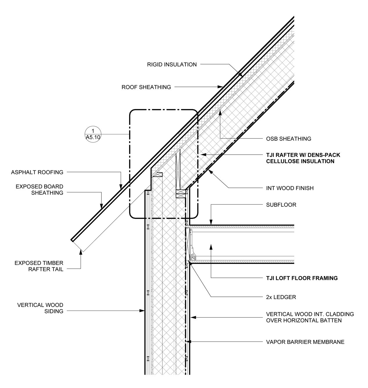 Image Result For Exposed Roof Rafters Detail Exposed