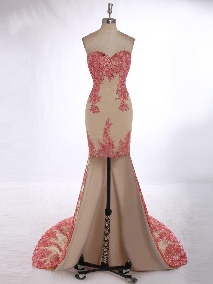 Sexy Prom DressLace Prom DressesShort Front Long Back Evening