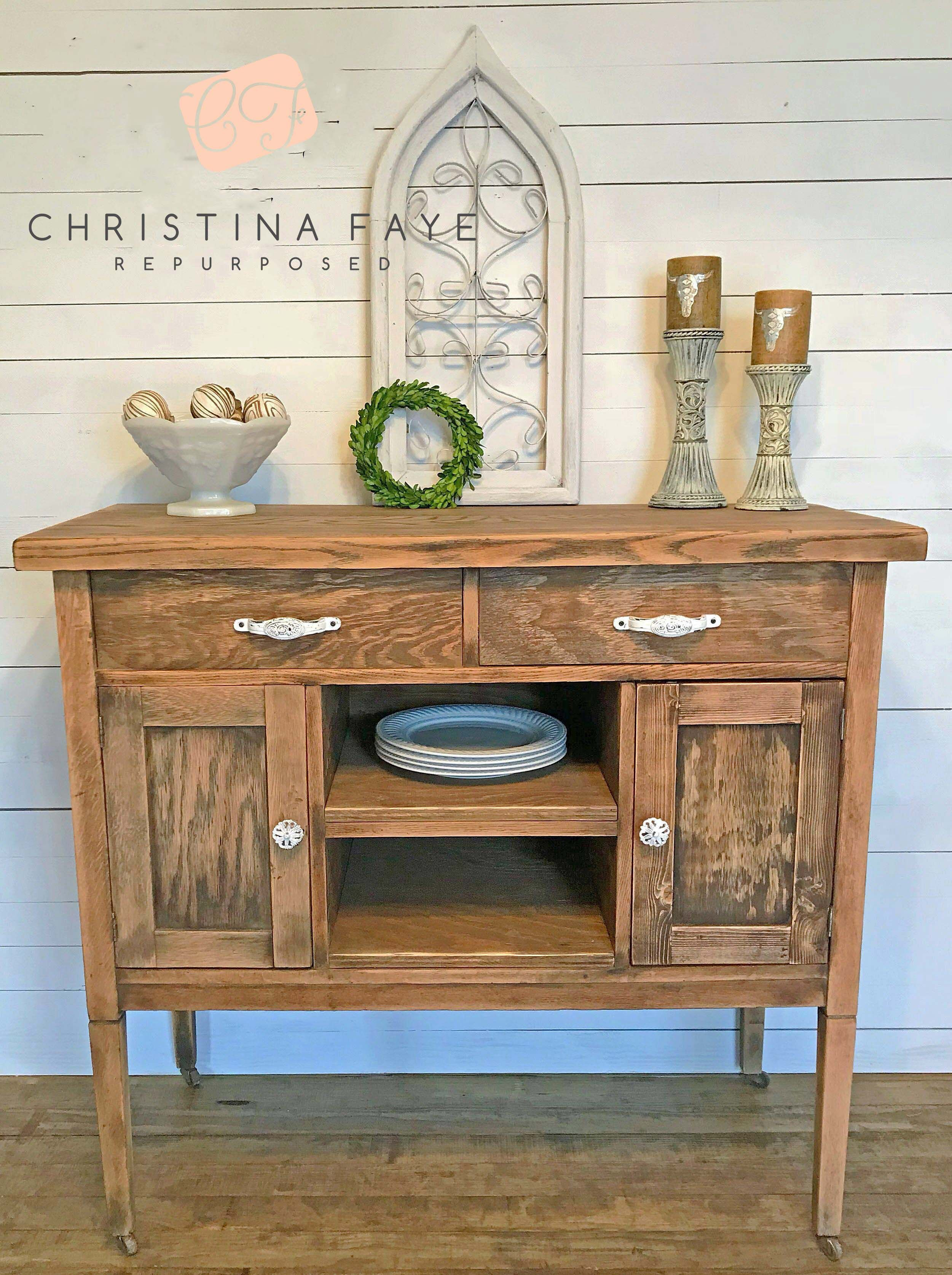 To Paint Or Not To Paint  Grandmas Antique Washstand