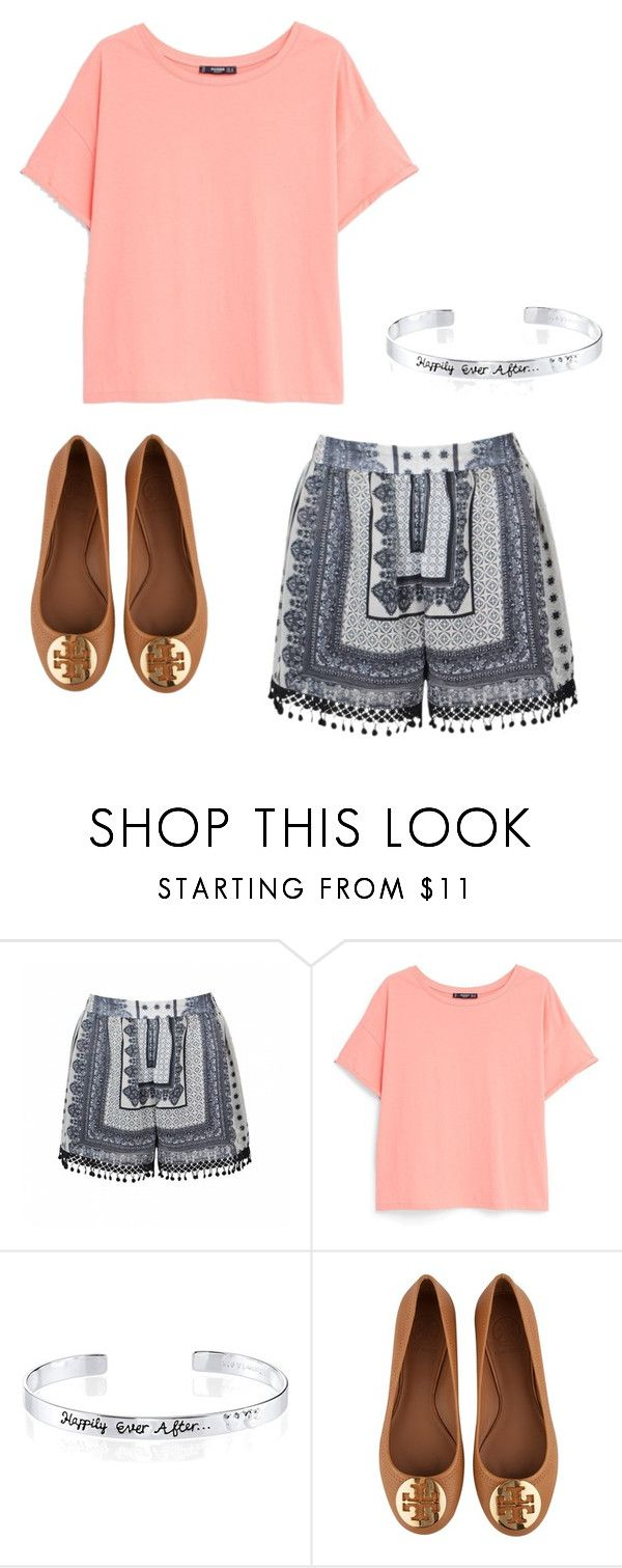 """School"" by m2w8w8 on Polyvore featuring Ally Fashion, MANGO, Disney and Tory Burch"