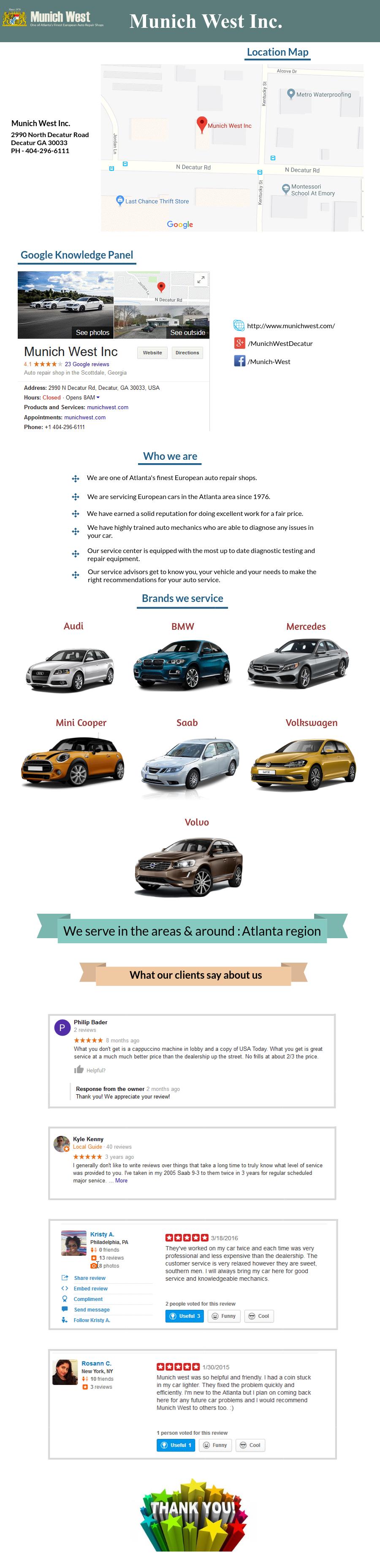 Munich West Is The European Auto Repair Shop Placed In The Atlanta - Audi repair atlanta