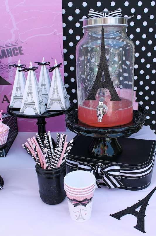 French / Parisian Birthday Party Ideas | Photo 2 of 14