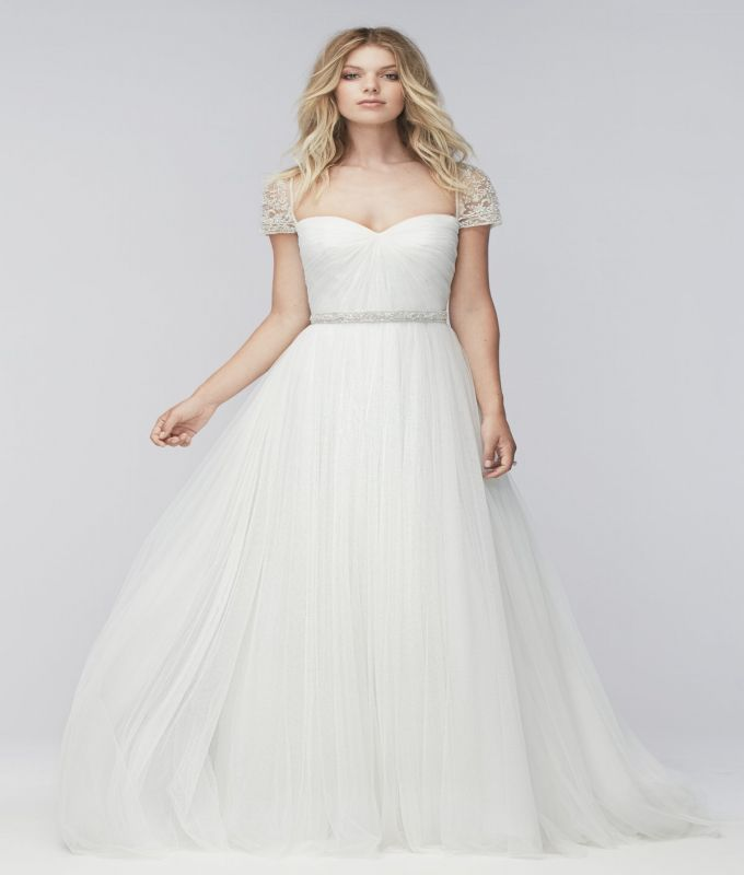 Best Wedding Dress Style For Large Breasts