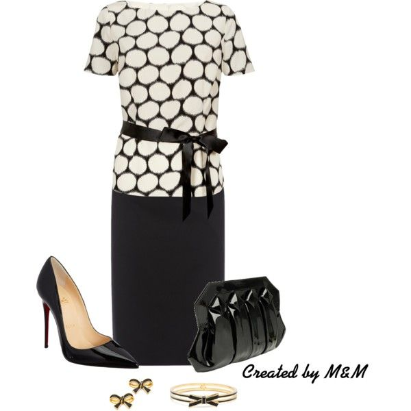"""""""~WEDNESDAY+@+THE+OFFICE~""""+by+marion-fashionista-diva-miller+on+Polyvore"""