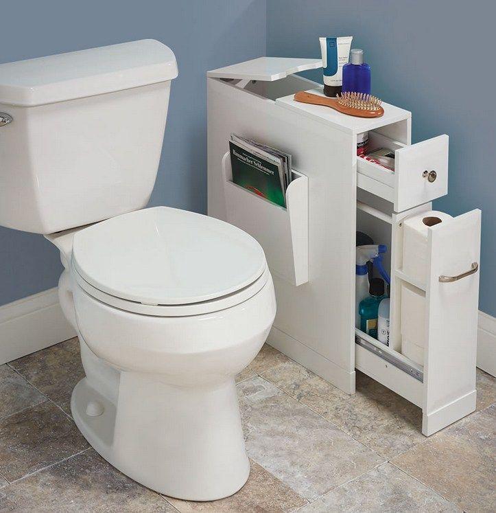 The Tight Space Bathroom Organizer Muebles Para Banos Pequenos