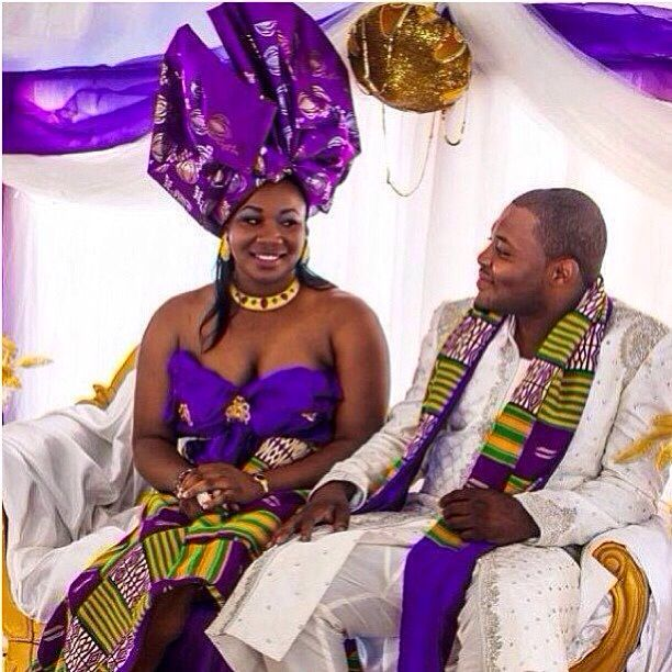 Ghanaian Traditional Wedding: Marian's Traditional Marriage