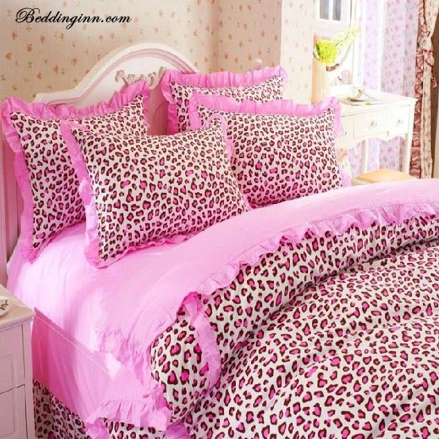 pink cheetah bedding ♔dream home decor♔