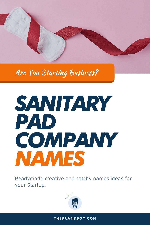 Sanitary Names : sanitary, names, Sanitary, Company, Names, Thebrandboy.Com, Pads,, Names,, Catchy