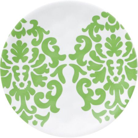 Refresh your tablescape in eye-catching style with this lovely appetizer plate featuring a bold damask print.Product Set of 6 a.  sc 1 st  Pinterest & Refresh your tablescape in eye-catching style with this lovely ...