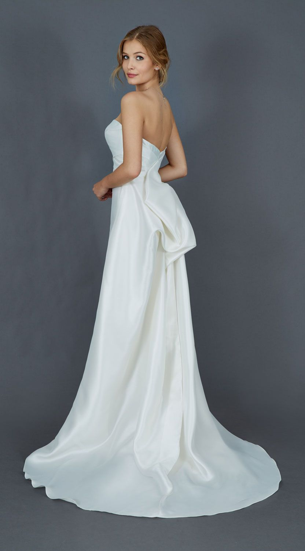 Favori FYMSI001 - Abito da Sposa Mezza Sirena - Vestito da Sposa in Seta  OY26