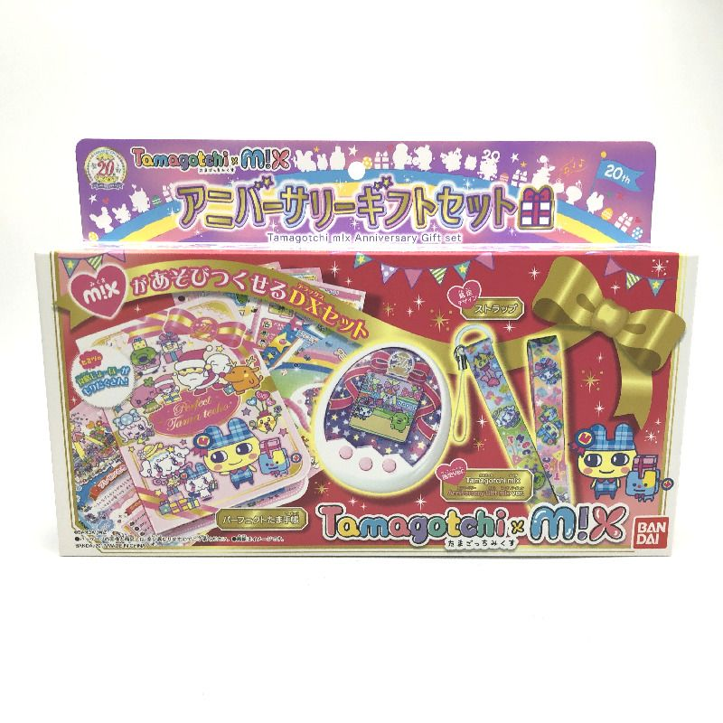 Used] Tamagotchi m!x Anniversary Gift Set in Box Japan 2017