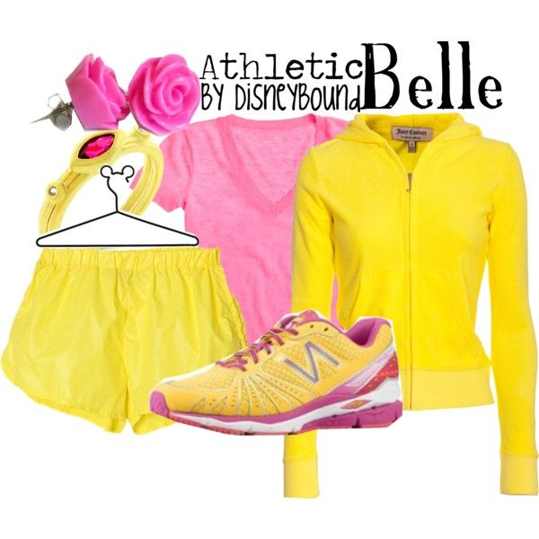 Belle Disneybound Women/'s Athletic Shorts