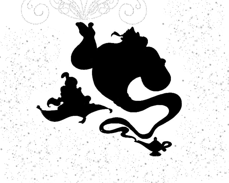 Aladdin | Cuts - Disney | Pinterest | Silhouettes, Stenciling and Cricut for Genie Silhouette  585ifm