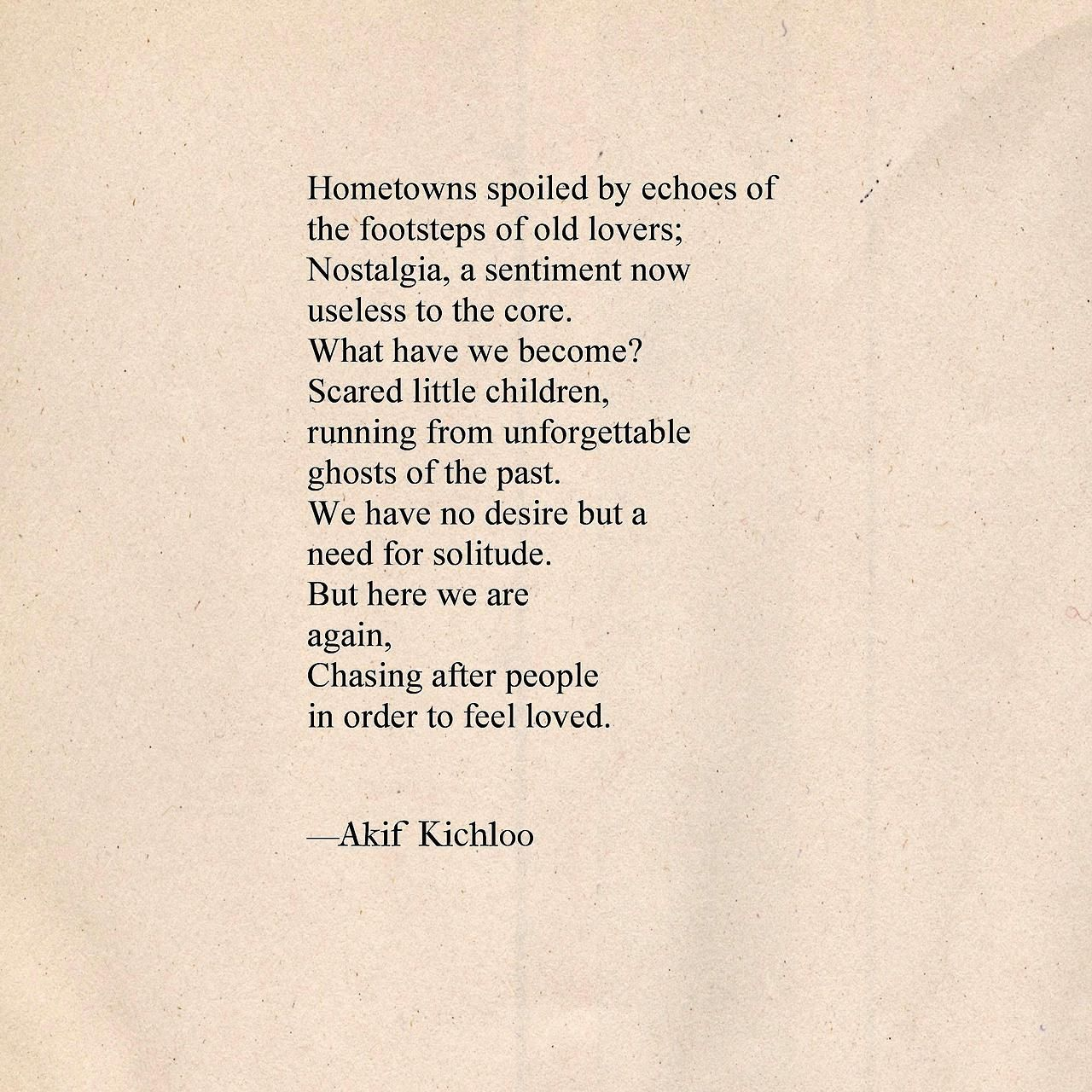 Find This Pin And More On Poems By Akif Kichloo