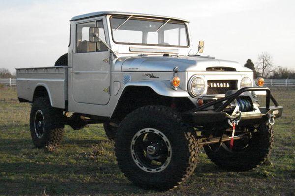 For Sale: 1965 Toyota FJ45 Land Cruiser LWB Pickup   cars