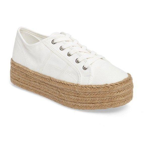 Women's Steve Madden Hampton Platform Sneaker (1.073.330 IDR) ❤ liked on  Polyvore