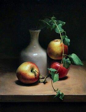 Pin By Eylul Ay On Yagli Boya Yapilabilirler Still Life With Apples Still Life Painting Still Life Fruit