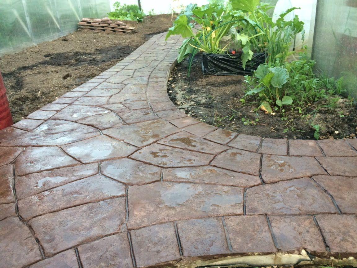 Садовые дорожки из плиток своими руками фото 594