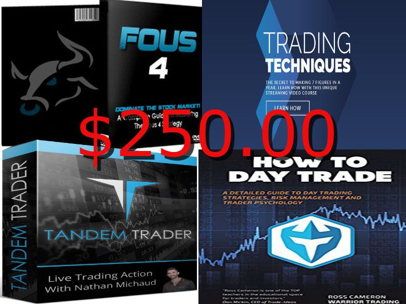 Mega Deal Warrior Trading Pro Course Fous 4 Course Tandem