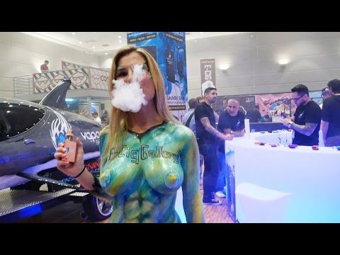 A SEXY VIEW OF THE ECC 2014 EXPO - VAPE CLUB - YouTube